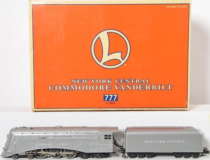 Lionel 18045 Commodore Vanderbilt Locomotive