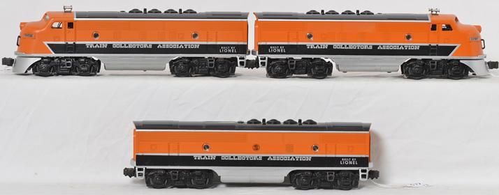 Lionel 11737 TCA 40th Anniversary F3 ABA Diesel