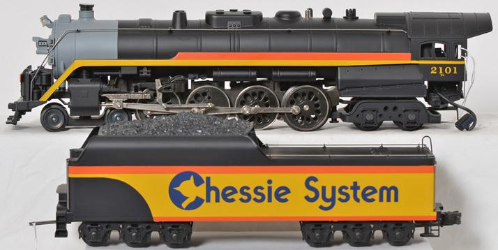 Lionel 18011 Chessie System T-1 steam locomotive