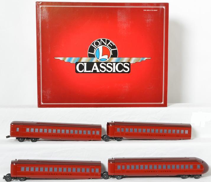 Lionel Classics 51201 Rail Chief Pass Car Set