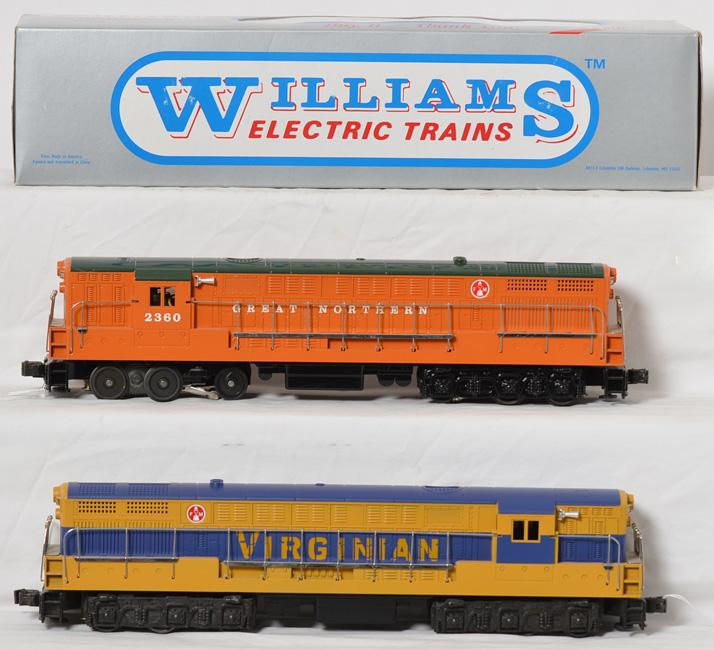2 Williams Great Northern and Virginian FM Trainmaster