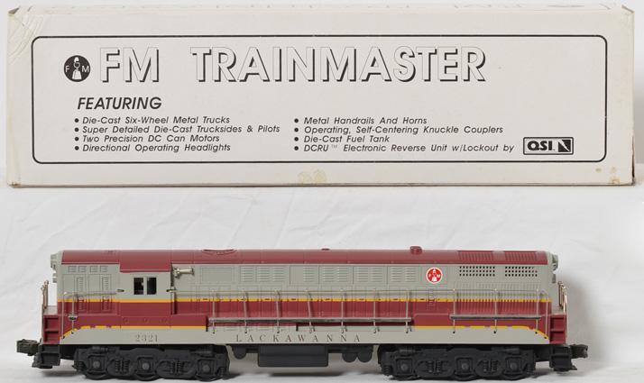Williams Lackawanna FM Trainmaster
