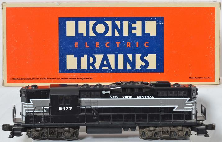 Lionel 8477 NYC GP 9 Diesel