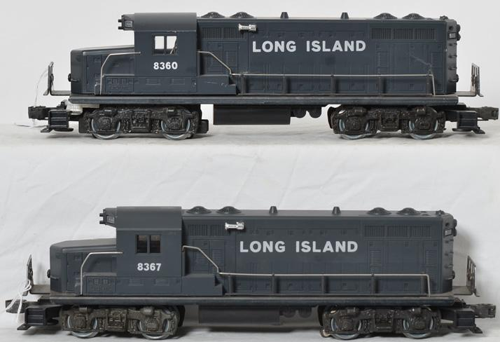 Lionel Long Island Railroad GP-20 Set, 8360, 8367