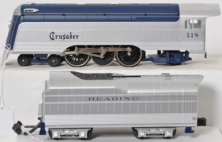 Railking Reading Crusader Loco and Tender