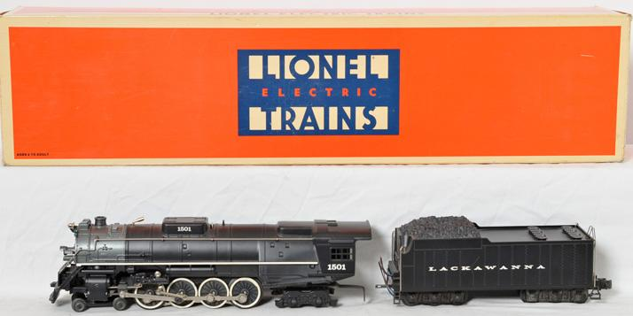 Lionel 18003 Lackawanna 4-8-4 Loco and tender