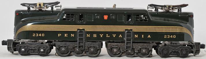 Lionel 8150 Green GG-1 Electric Locomotive