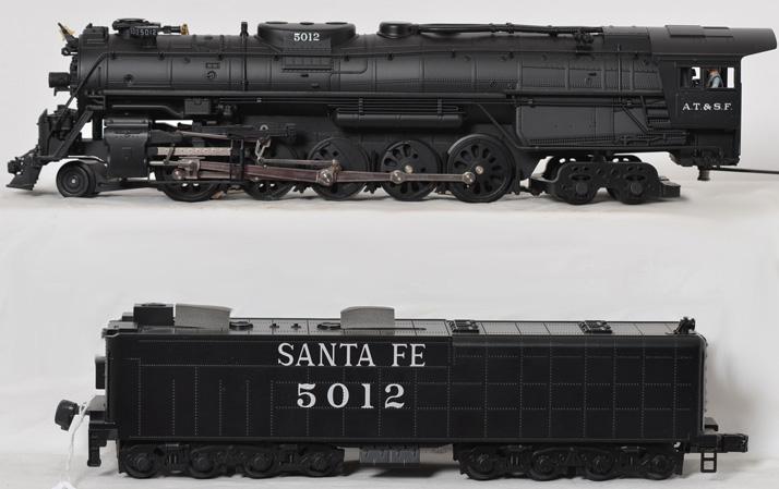 MTH Santa Fe Texas 2-10-4 with Proto 2, 20-3056-1