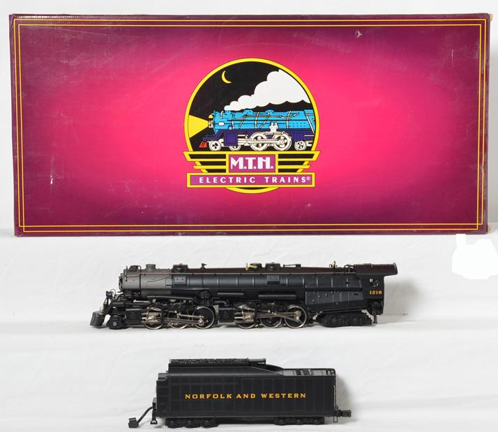 MTH 20-3036 Norfolk & Western 2-6-6-4 Class A Steamer with Proto