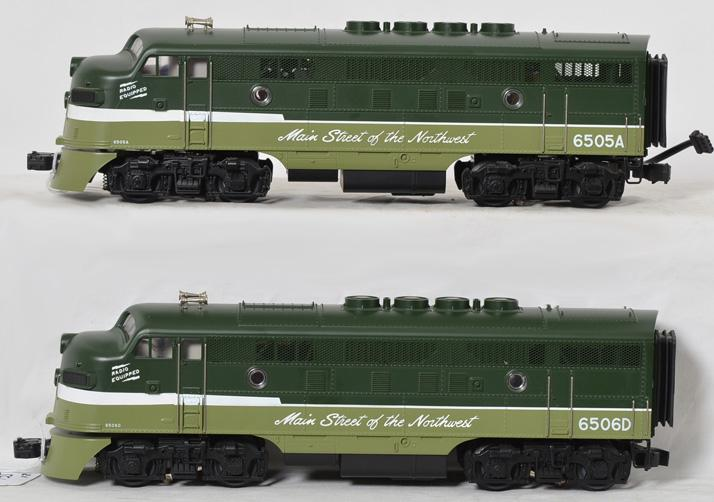 MTH 20-2087 Northern Pacific F 3 AA Units with Protosound