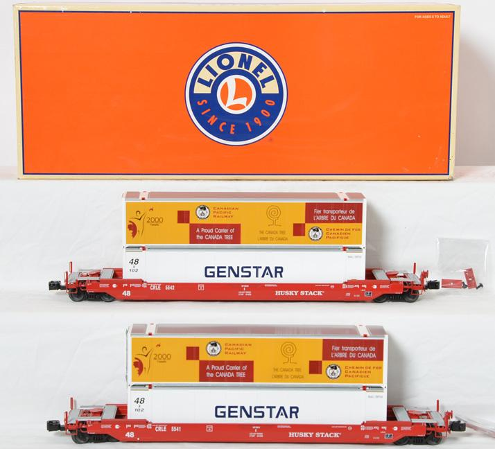 Lionel COE Rail Husky Stack 2 Pack, 21865