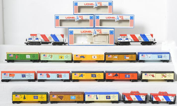 Lionel Spirit Of 76 Set,