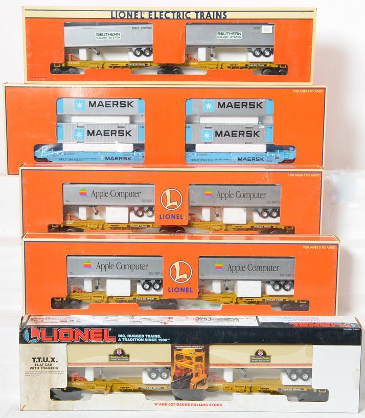5 Lionel TTUX, 2 26908 & 36935
