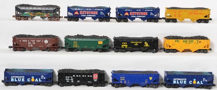 13 K Line Die Cast Coal Hoppers,
