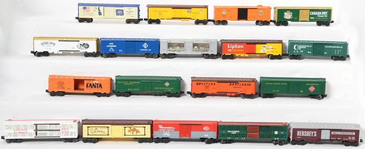 15 Lionel Boxcars,9867, 7304, 9863, 9320, 7802, 9811