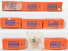 Eight Lionel separate sale 1640-100 Presidential Kits in OB