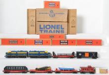 Lionel postwar O gauge boxed set 1605W with 208 SF Alco units