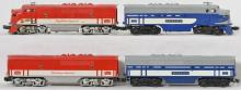 Lionel Wabash F3 2367 AB units and 2245 Texas Special AB units