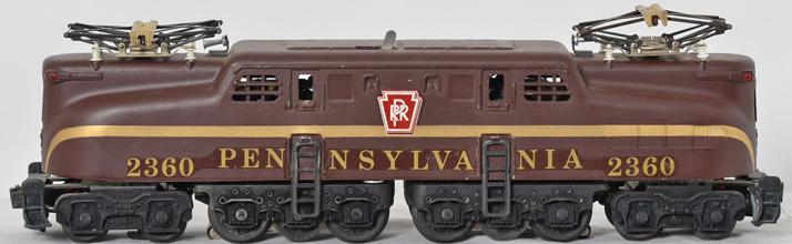Nice Lionel 2360 Pennsylvania GG1, outstanding original box