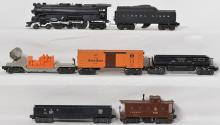 Lionel 665 Hudson with 2046W, 2454, 3469, 6462, 3650, 6457