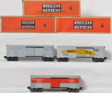 Lionel 6464 boxcars incl -125 NYC, -1 WP and -100 WP in boxes