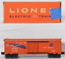 High grade Lionel 6464-250 Western Pacific boxcar in OB