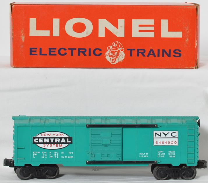 Lionel 6464-900 New York Central boxcar in OB
