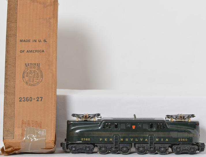 Lionel 2360 Pennsylvania dual motor green GG1 with OB