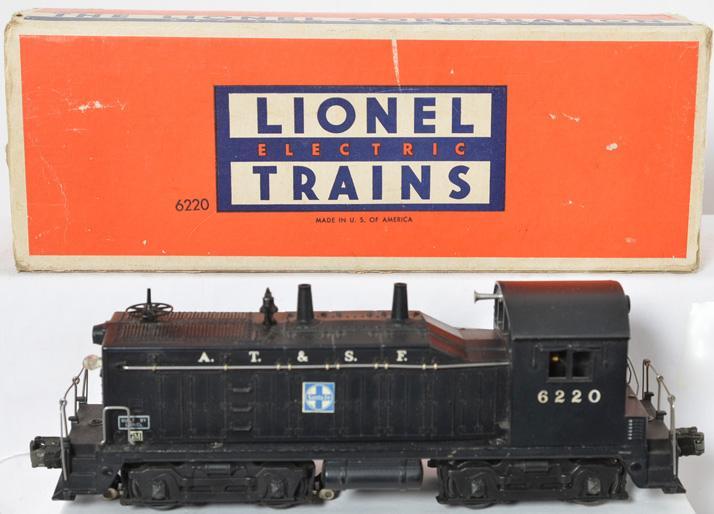 Lionel 6220 Santa Fe GM diesel switcher in OB