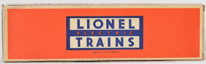 Very high grade Lionel original box only for 2378C Milwaukee Road B unit