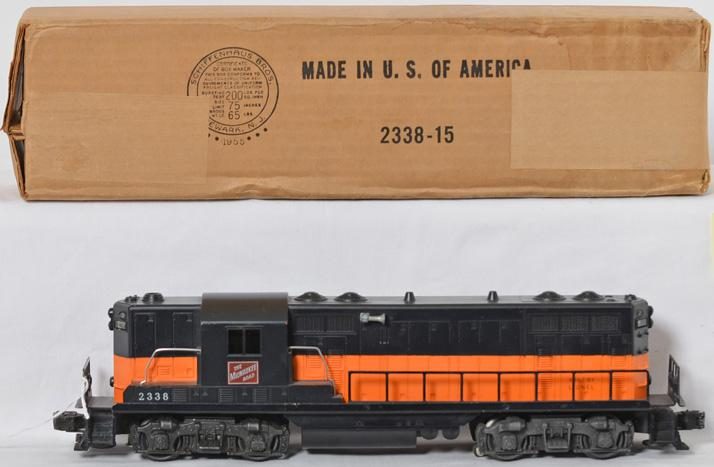Lionel 2338 Milwaukee Road GP in OB