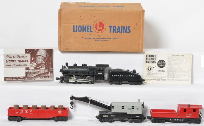 Lionel Boxed Set 502/1527 from 1955