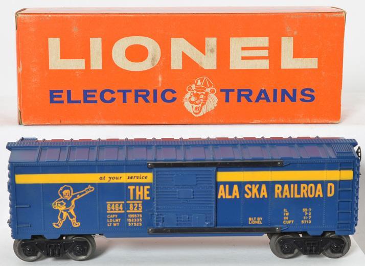 Lionel Postwar O gauge 6464-825 Alaska box with Original Box