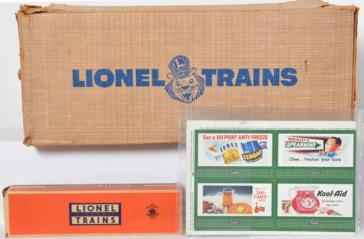 Lionel Postwar O gauge 2269W Empty Set box for the 2368 B&O Set