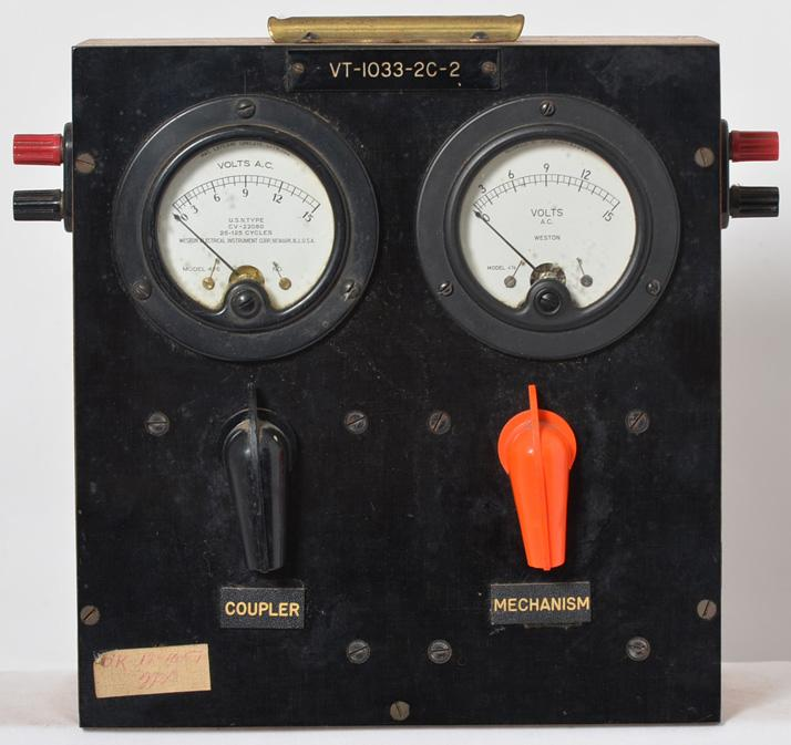 Lionel postwar factory 1033 transformer tester