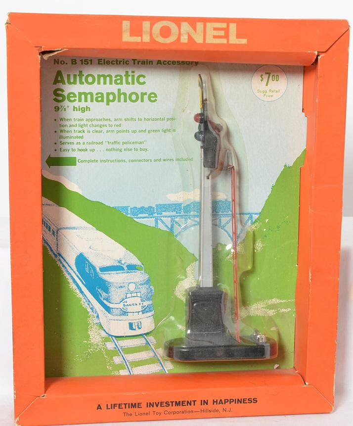 Lionel B151 Automatic Semaphore Blister Pack