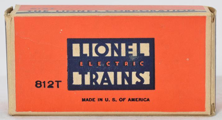 Lionel prewar O gauge 208 and 812T tool sets in original boxes