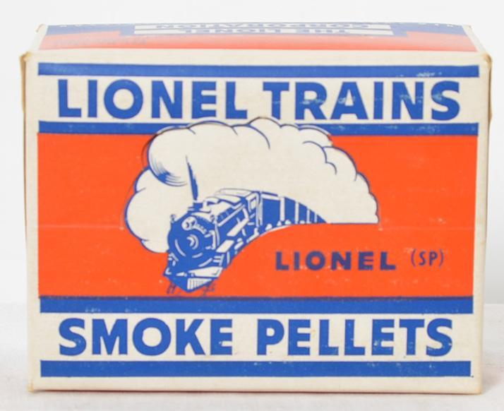 Lionel Postwar SP-12 glossy smoke pellet master carton