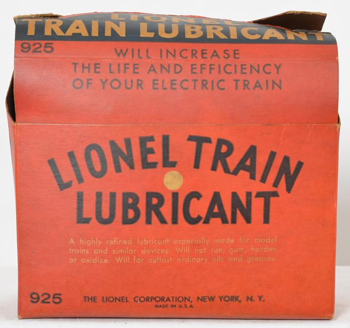 Tough Lionel 925 dealer master carton lubricant