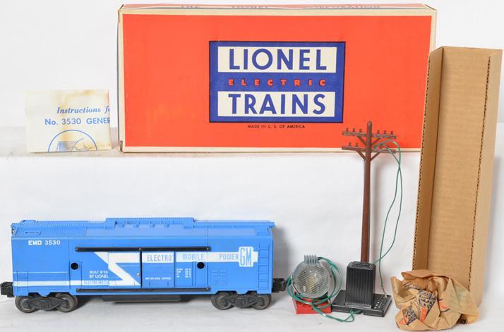 Lionel 3530 Generator 3530-50 Pole MINT Boxed