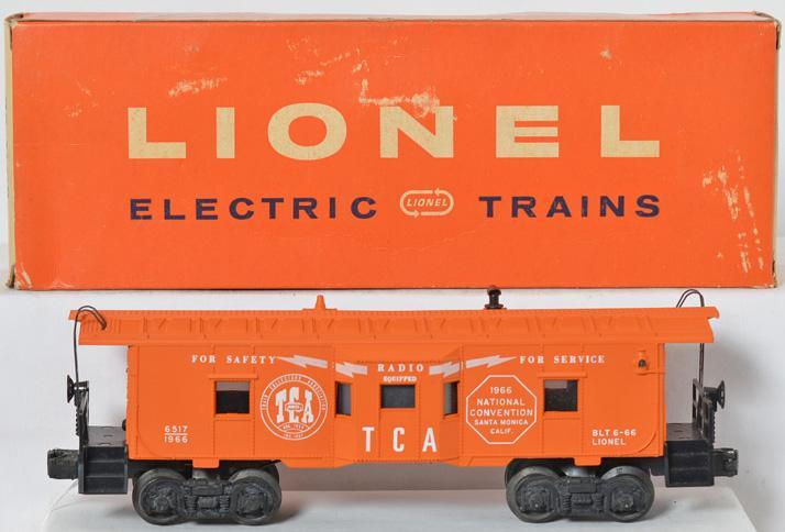Lionel 6517-60 1966 TCA bay window in original box