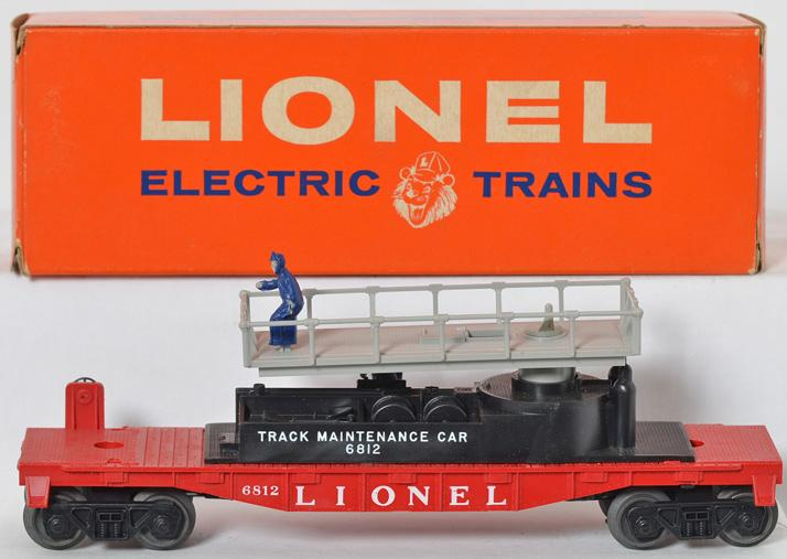 Lionel unrun 6812 track maintenance car in original box