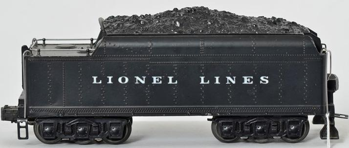 Lionel Postwar 2426W Lionel Lines whistle tender, 1950 version