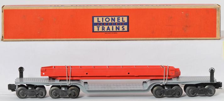 Unrun Lionel 6418 machinery car with original box