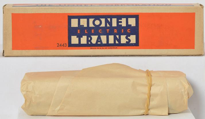 Mint Lionel 2443 observation car in original box