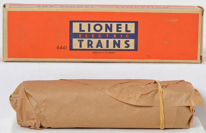 Mint Lionel 6441 observation car in original box