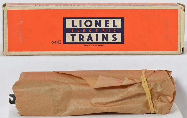 Mint Lionel 6443 observation car in original box