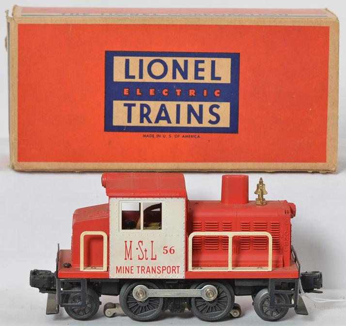 Lionel No. 56 M&ST.L mine transport with good struts and box