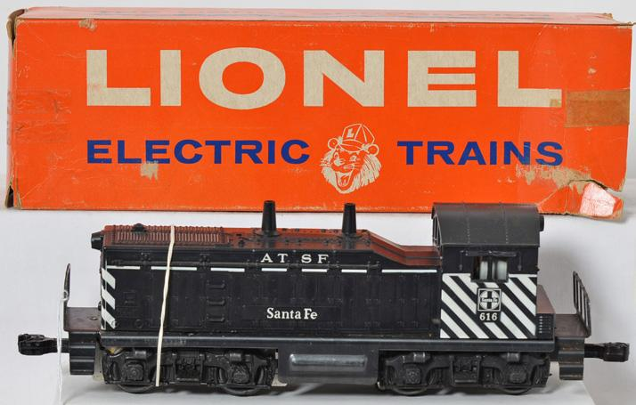 Lionel 616 Santa Fe switcher in original box