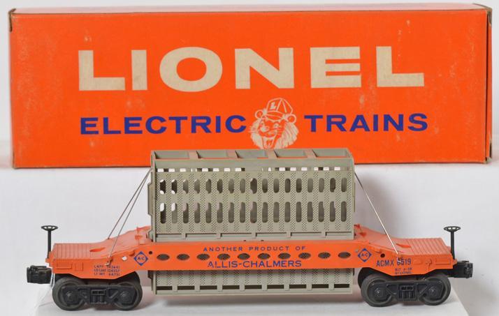 Unrun Lionel 6519 Allis Chalmers condenser car in original box